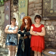 Merida and the girls!