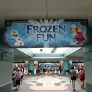 Frozen Summer Fun through Sept. 28.