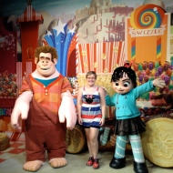 Wreck it Ralph and Vanellope