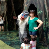 Twinkie and Rafiki (and some little girls that were there, too)