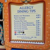 The Allergy Friendly Menu