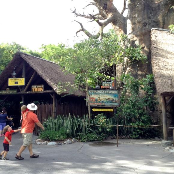 Kilimanjaro Safaris Main Entrance