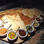 GF Naan and dips!