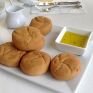 GF rolls and olive oil