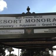 Hopping the Resort Monorail...