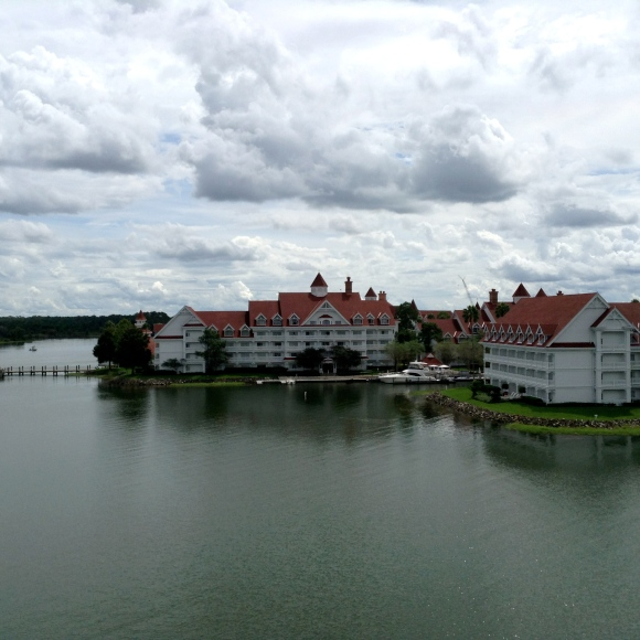 View of the Grand Floridian from the Monorail