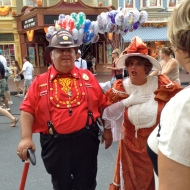 Fire Chief Smokey Miller & Victoria Trumpetto