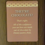 They're Chocolate!