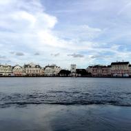 Boardwalk across the waters...