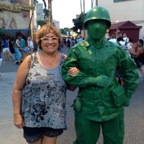 Me & Green Army Man