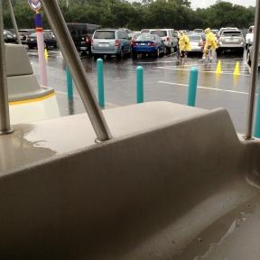 Rain everywhere!