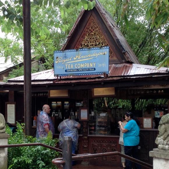 """Tea Hut in """"Asia"""""""