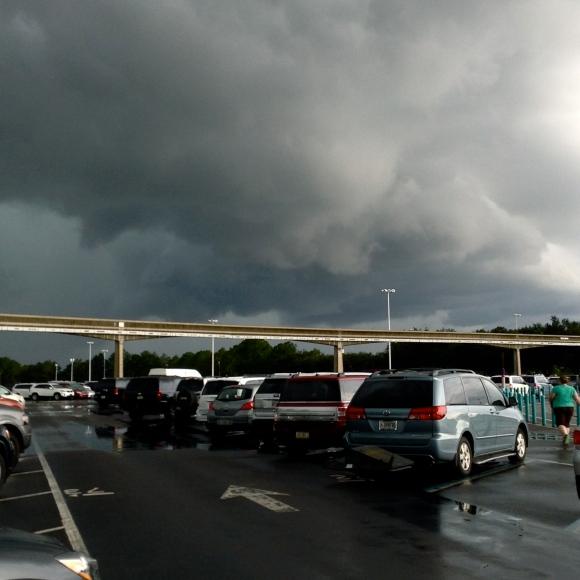 Storm rollin' in!