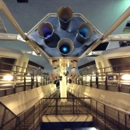 Inside Space Mountain...
